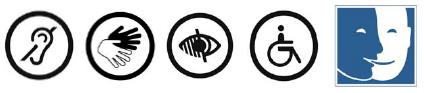 les pictogrammes d'accessibilité du musée quai Branly - école de la médiation