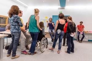 "Session test ""Ecole de la médiation"" du 29 septembre au 2 octobre 2015. © Arnaud Robin / 06 76 23 38 34 / wwww.arnaudrobin.net / arnaudrobin@free.fr"